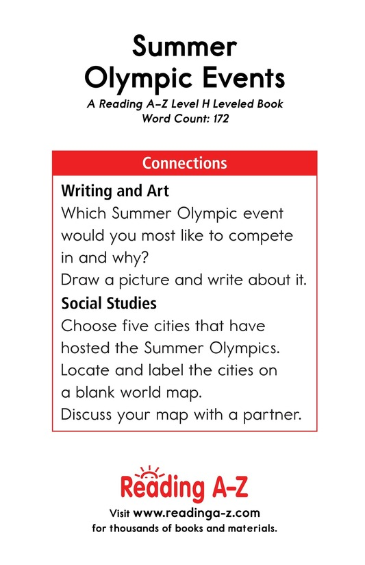 Book Preview For Summer Olympic Events Page 17