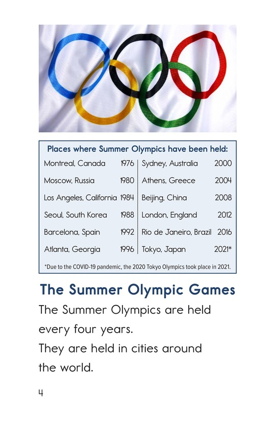 Book Preview For Summer Olympic Events Page 4