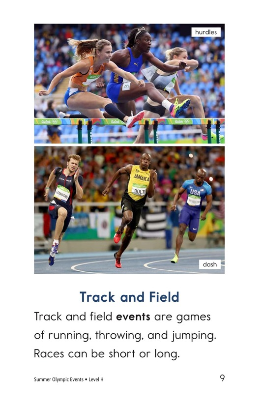 Book Preview For Summer Olympic Events Page 9