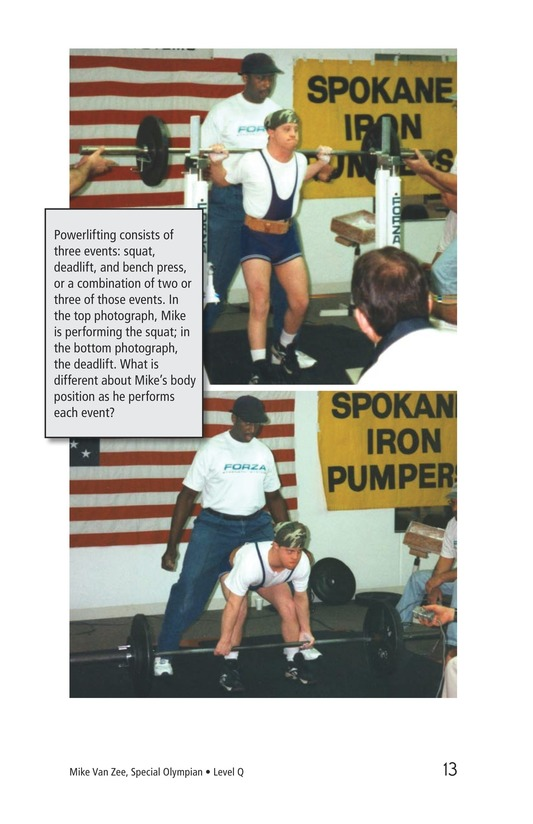 Book Preview For Mike Van Zee, Special Olympian Page 13
