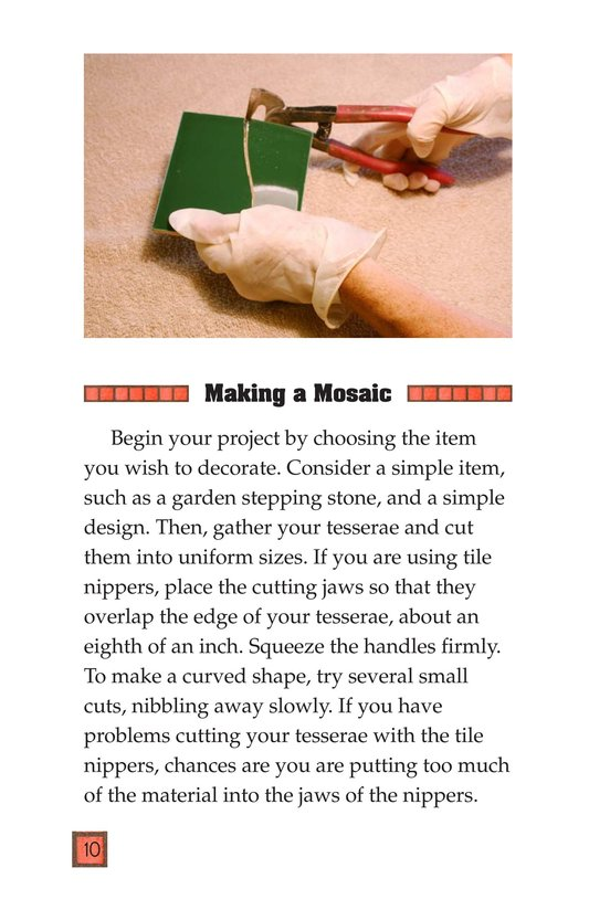 Book Preview For Making Mosaics Page 10