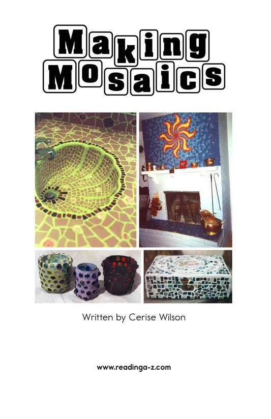 Book Preview For Making Mosaics Page 2