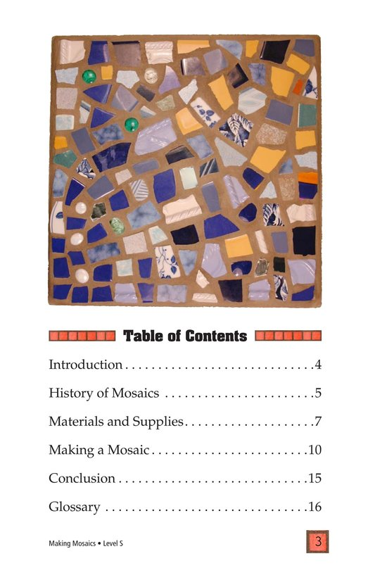 Book Preview For Making Mosaics Page 3