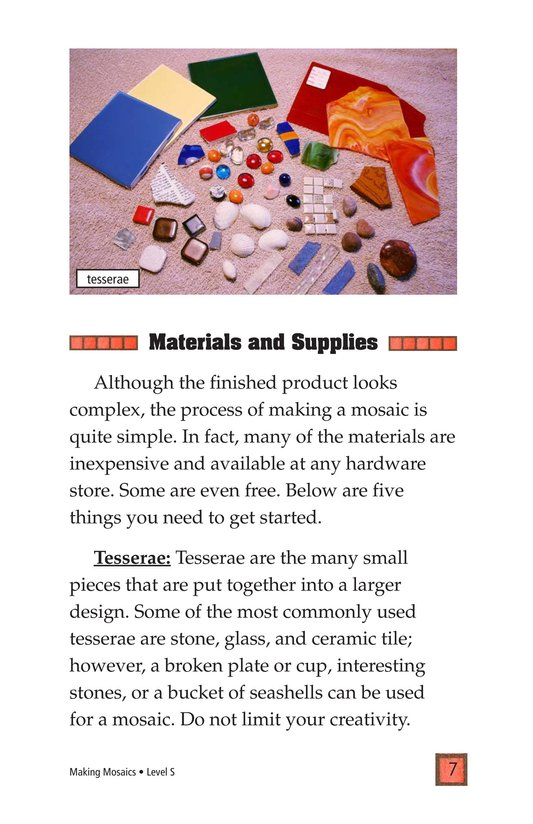 Book Preview For Making Mosaics Page 7