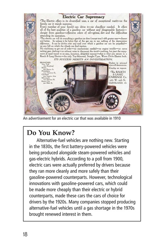 Book Preview For Alternative Fuel Cars Page 18