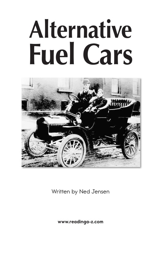 Book Preview For Alternative Fuel Cars Page 2