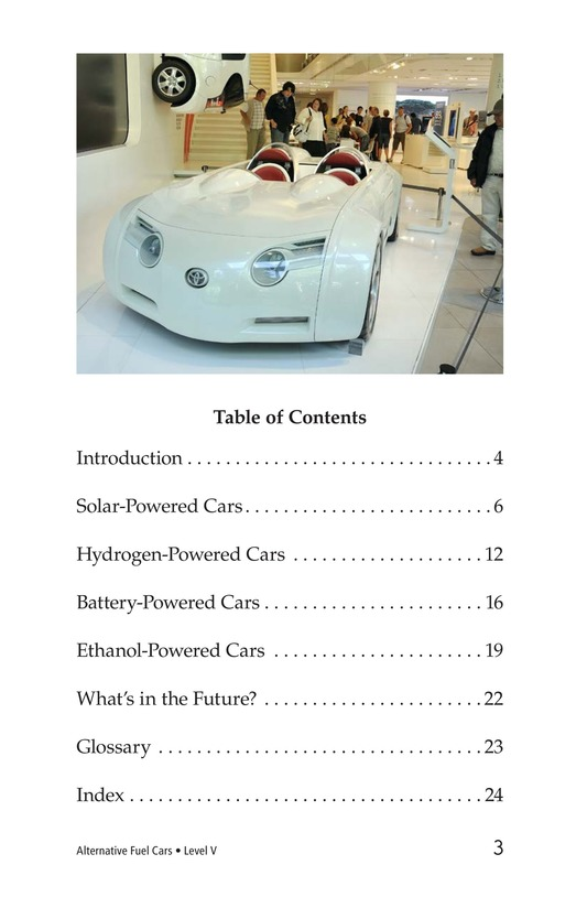 Book Preview For Alternative Fuel Cars Page 3