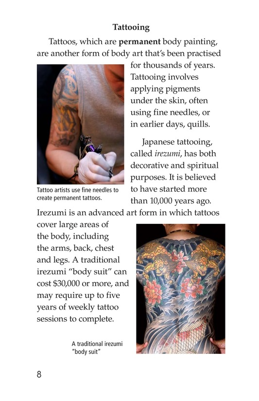 Book Preview For Body Art Page 8