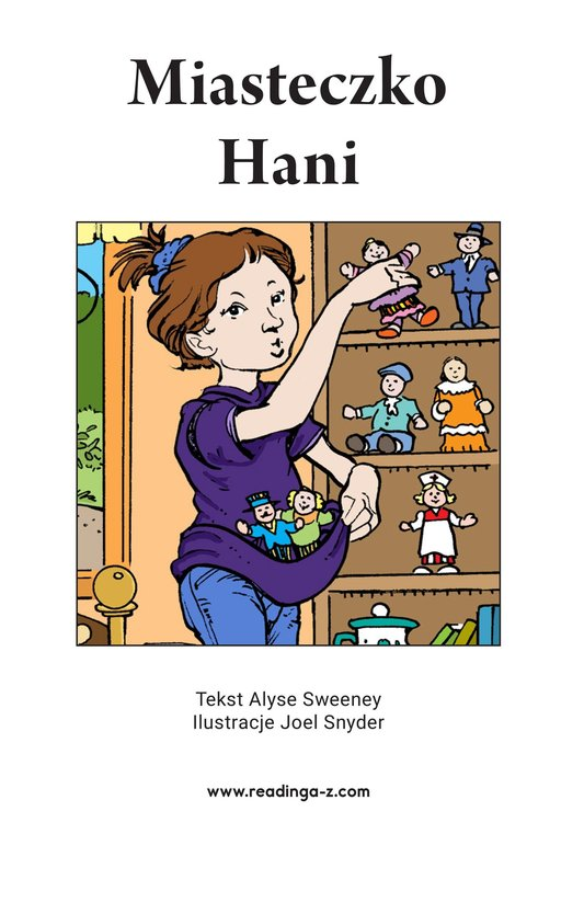 Book Preview For Hannah's Townspeople Page 2