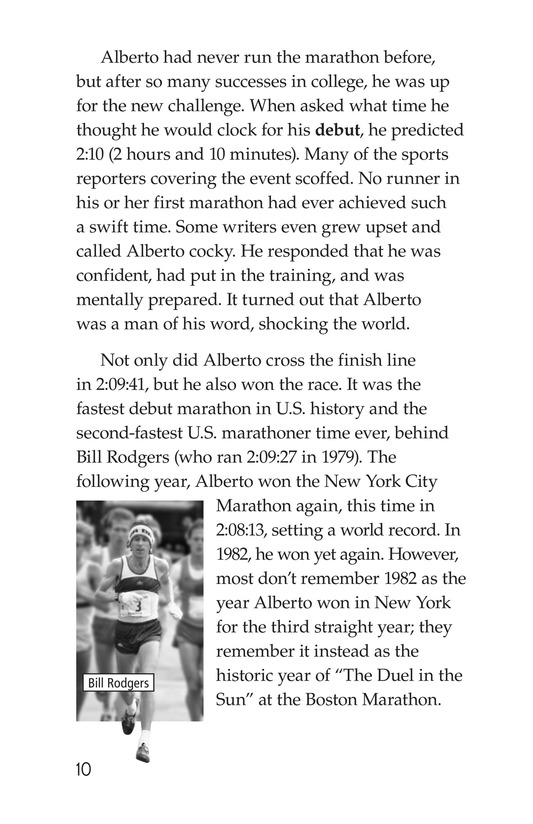Book Preview For Alberto Salazar: An American Runner Page 10