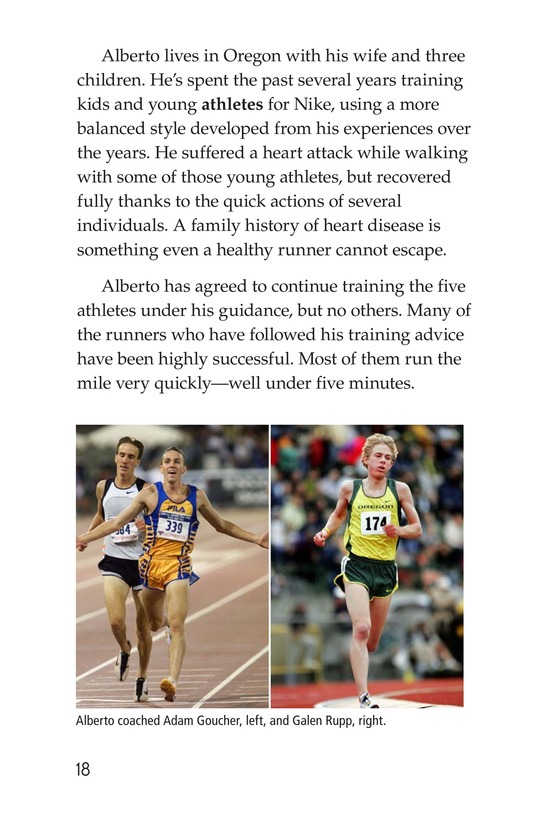 Book Preview For Alberto Salazar: An American Runner Page 18