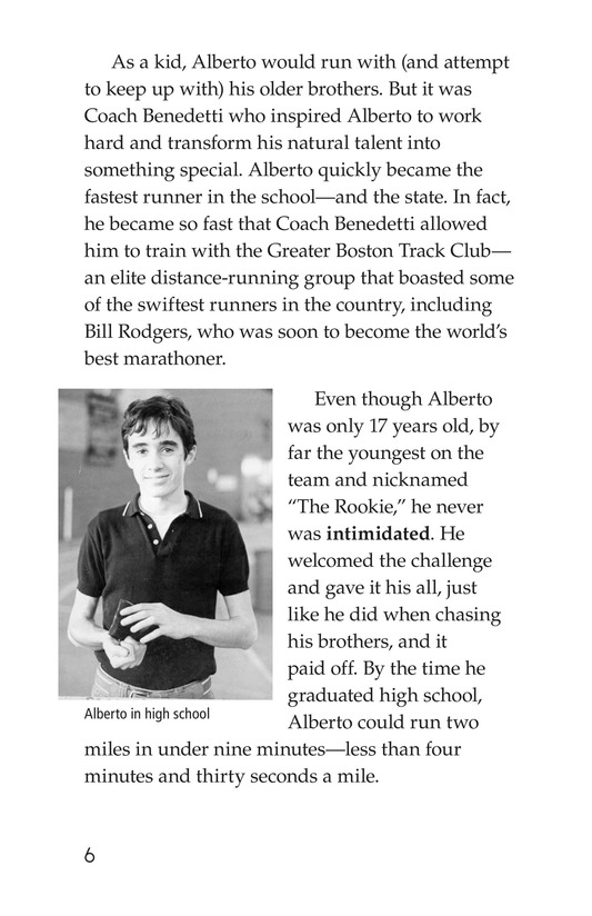 Book Preview For Alberto Salazar: An American Runner Page 6
