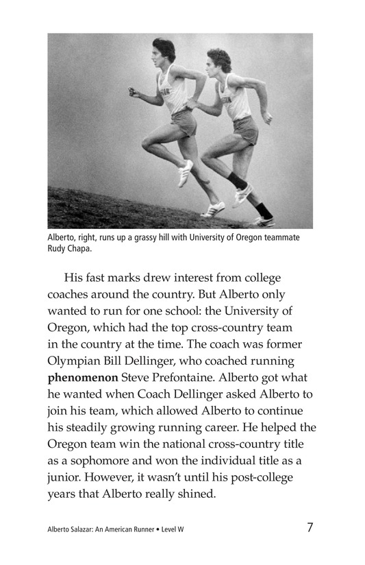 Book Preview For Alberto Salazar: An American Runner Page 7