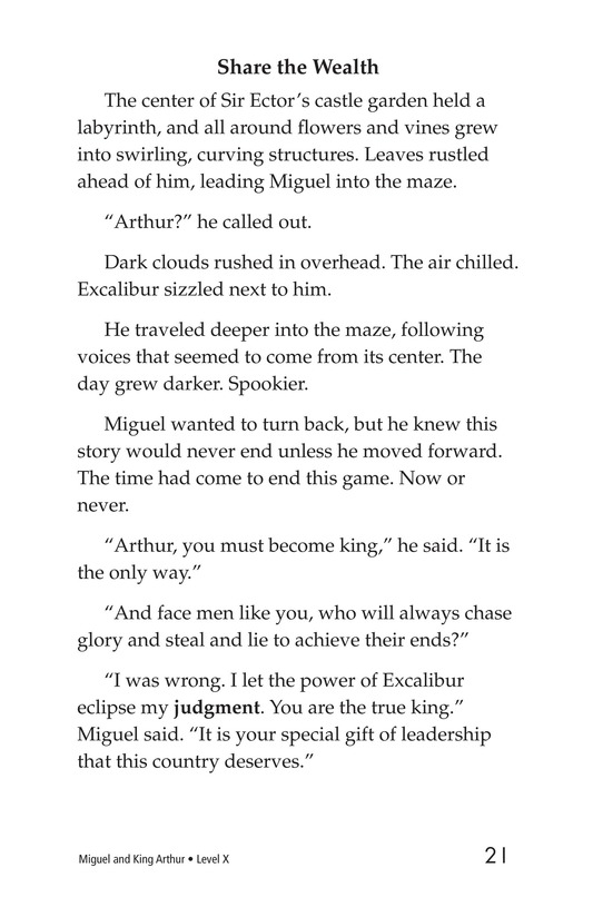 Book Preview For Miguel and King Arthur Page 21
