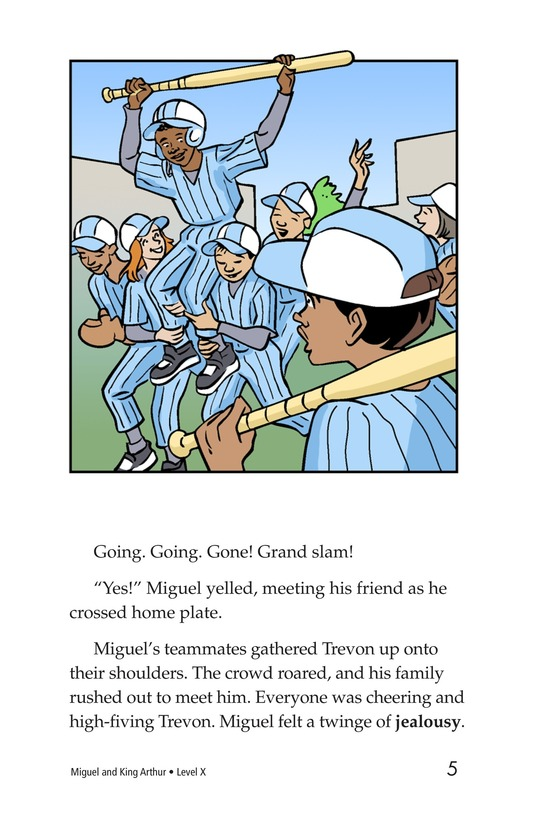 Book Preview For Miguel and King Arthur Page 5