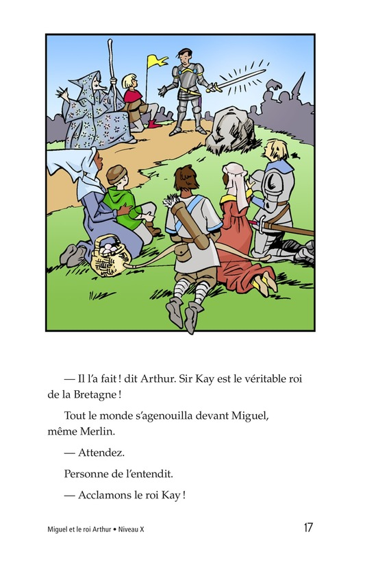 Book Preview For Miguel and King Arthur Page 17