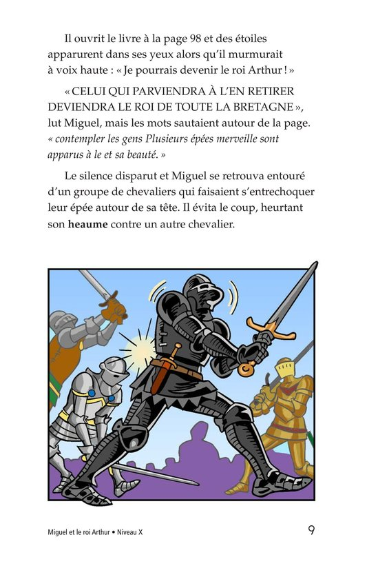 Book Preview For Miguel and King Arthur Page 9