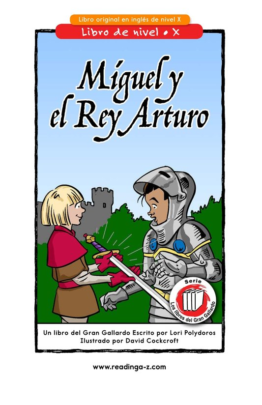 Book Preview For Miguel and King Arthur Page 1