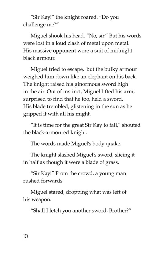 Book Preview For Miguel and King Arthur Page 10