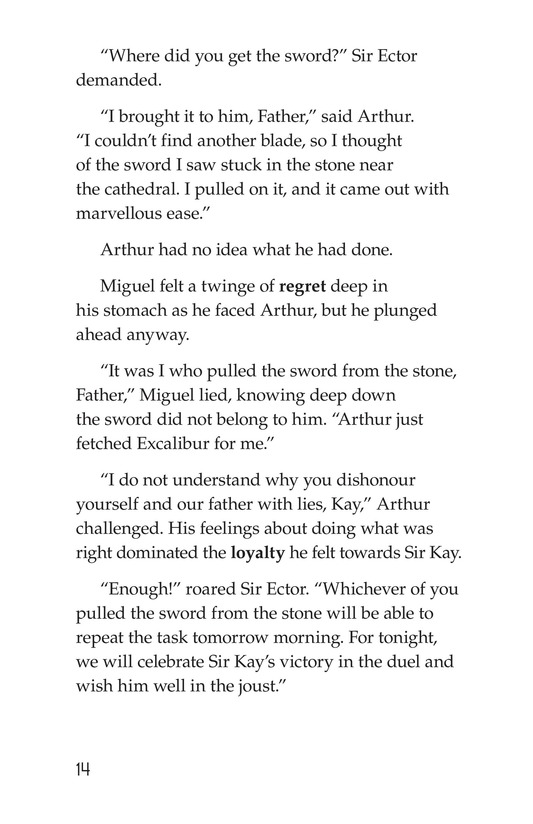 Book Preview For Miguel and King Arthur Page 14