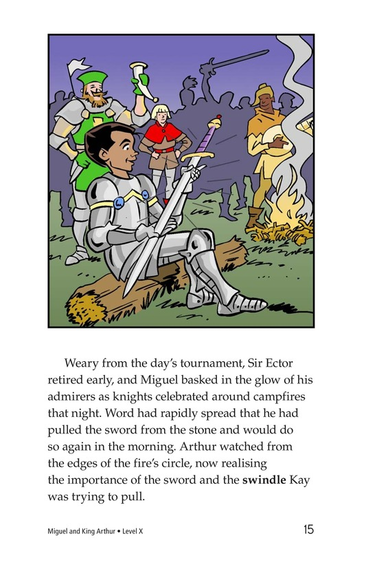 Book Preview For Miguel and King Arthur Page 15