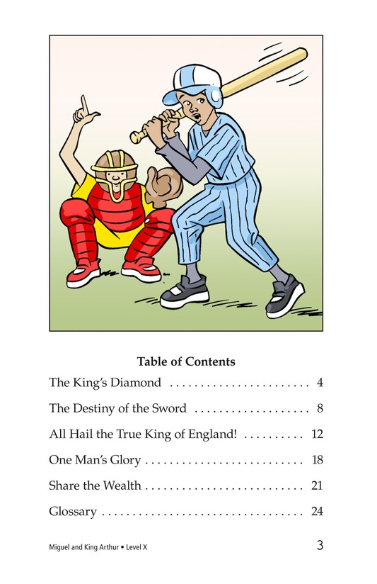 Book Preview For Miguel and King Arthur Page 3