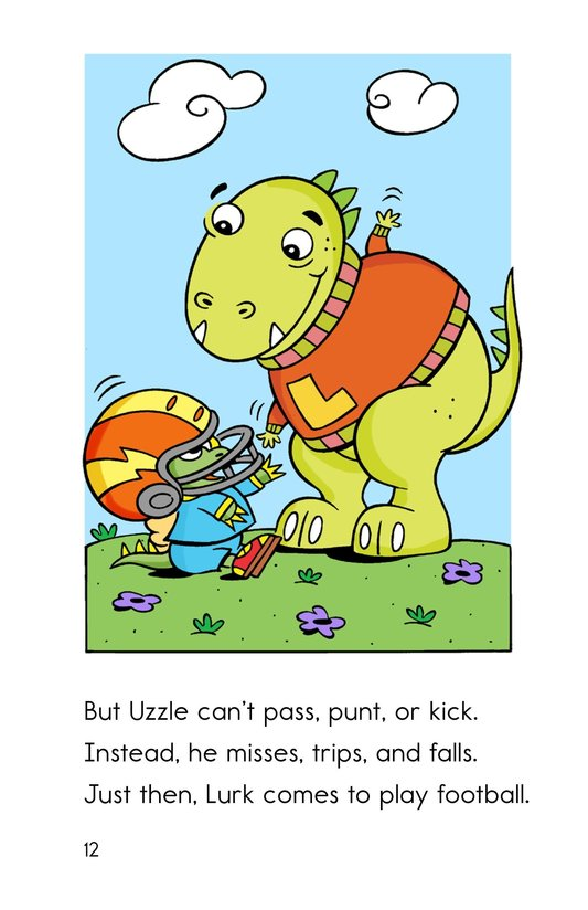 Book Preview For Uzzle, The Football Star Page 12