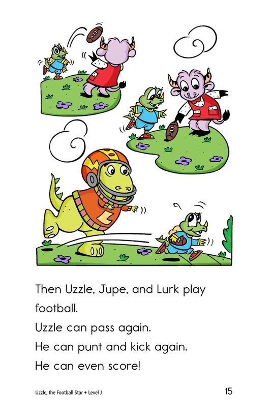 Book Preview For Uzzle, The Football Star Page 15
