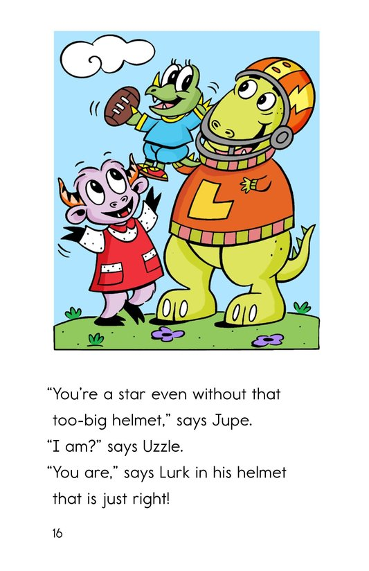 Book Preview For Uzzle, The Football Star Page 16