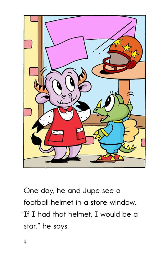 Book Preview For Uzzle, The Football Star Page 4