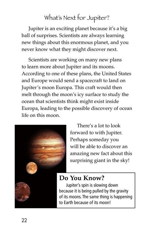 Book Preview For Jupiter's Secrets Revealed Page 22