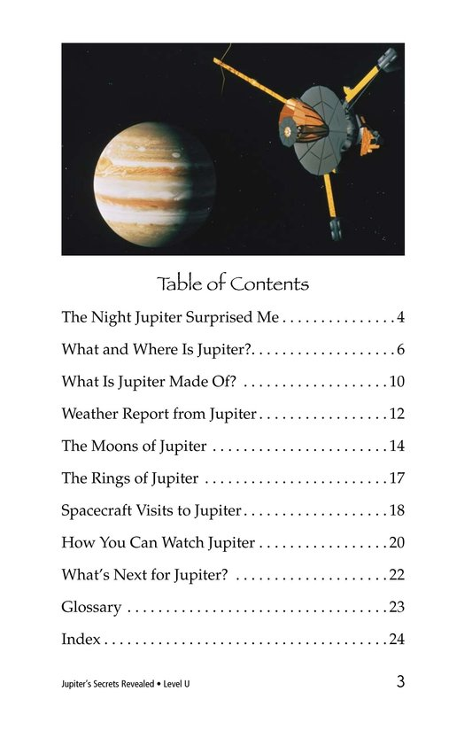 Book Preview For Jupiter's Secrets Revealed Page 3
