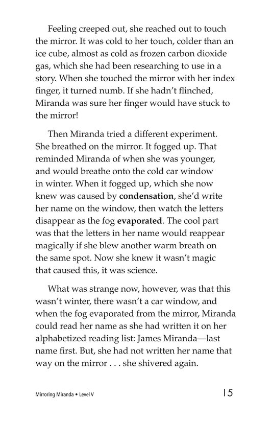 Book Preview For Mirroring Miranda Page 15