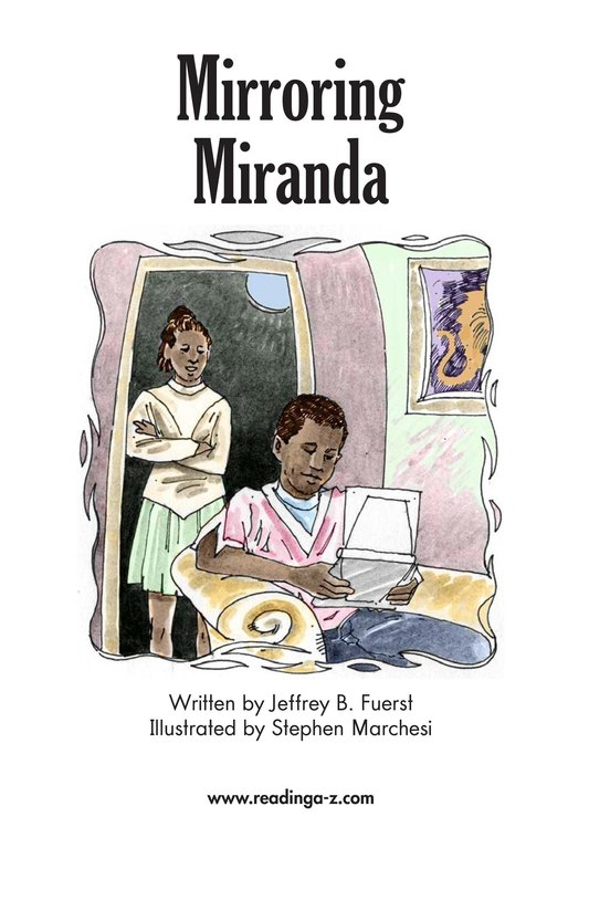 Book Preview For Mirroring Miranda Page 2
