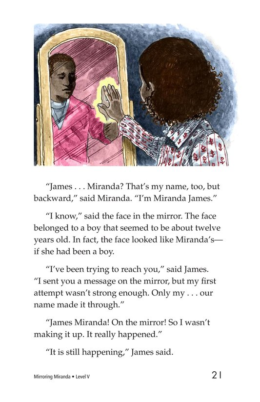 Book Preview For Mirroring Miranda Page 21