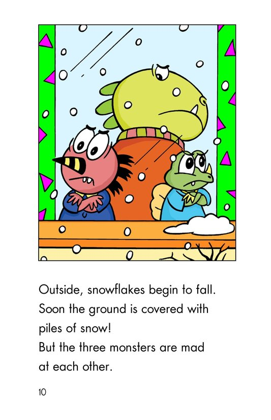 Book Preview For Monster Snow Day Page 10