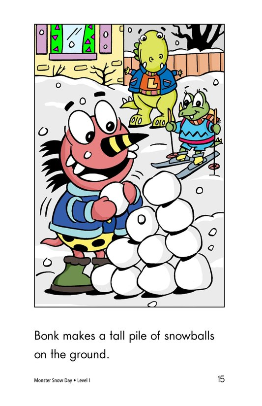 Book Preview For Monster Snow Day Page 15