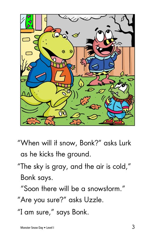 Book Preview For Monster Snow Day Page 3