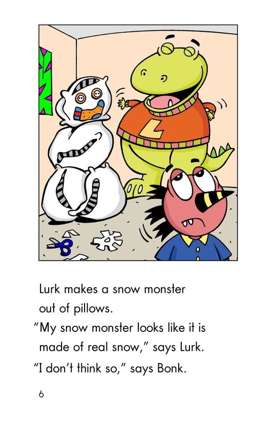 Book Preview For Monster Snow Day Page 6