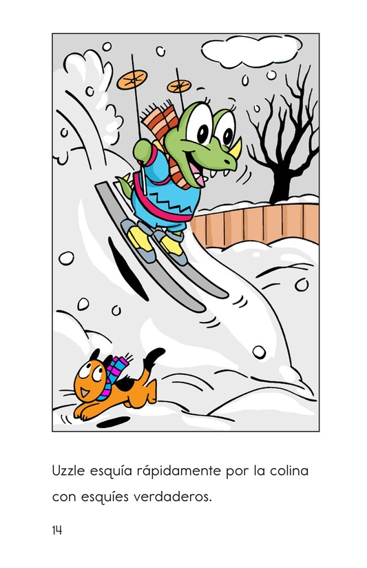 Book Preview For Monster Snow Day Page 14