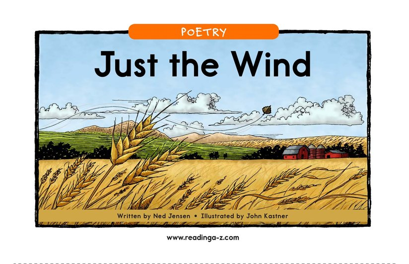 Book Preview For Just the Wind Page 1