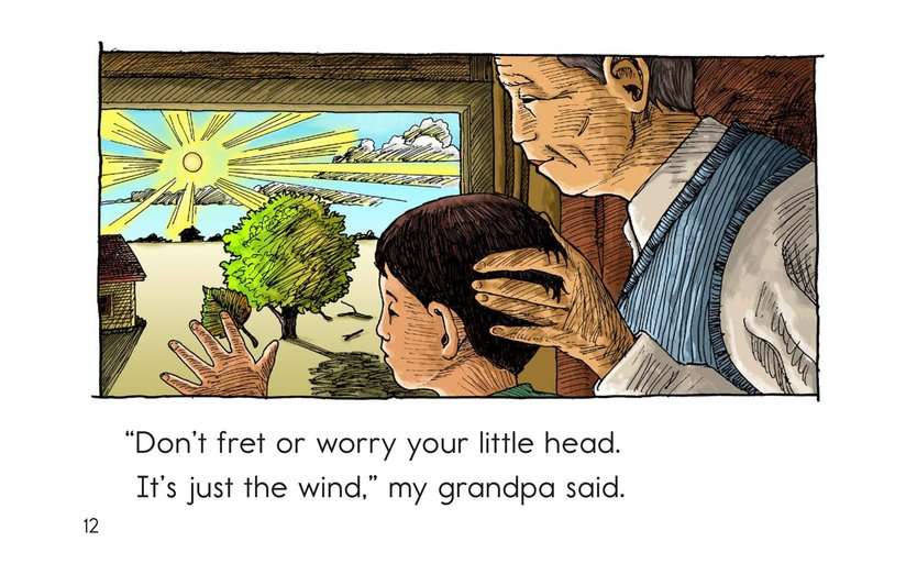 Book Preview For Just the Wind Page 12
