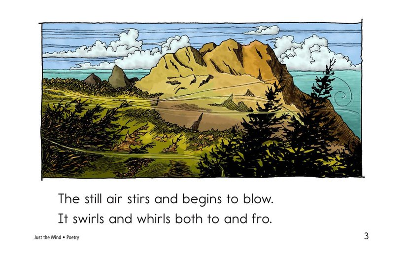 Book Preview For Just the Wind Page 3