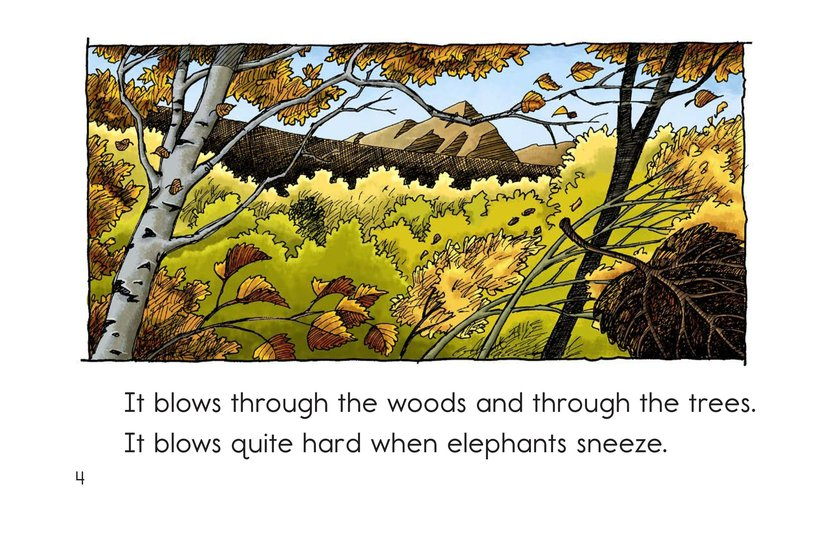 Book Preview For Just the Wind Page 4