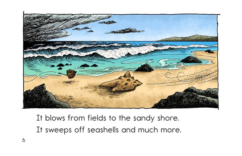 Book Preview For Just the Wind Page 6