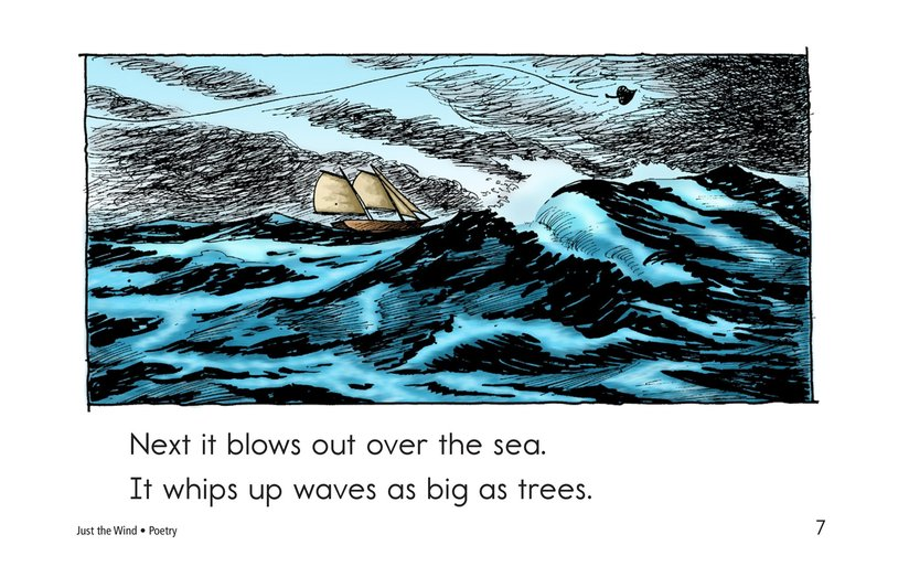 Book Preview For Just the Wind Page 7