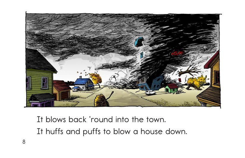 Book Preview For Just the Wind Page 8