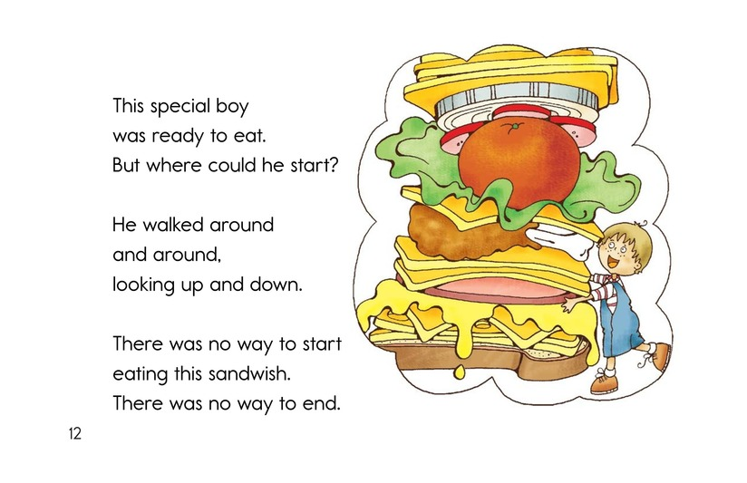 Book Preview For Soup and a Sandwish Page 12