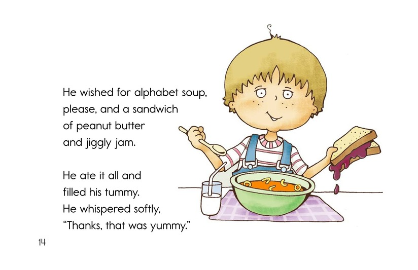 Book Preview For Soup and a Sandwish Page 14