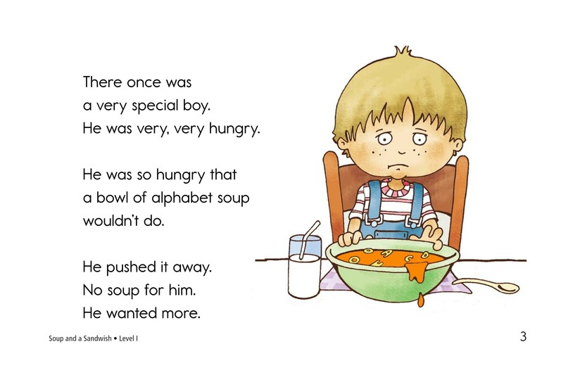Book Preview For Soup and a Sandwish Page 3